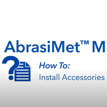 AbrasiMet M: Pro How to Use Accessories